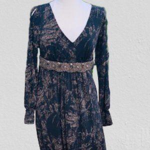 S-Twelve Maxi Dress NWT